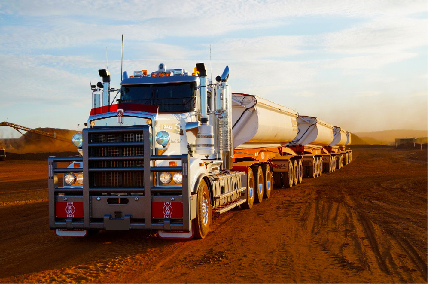 Kenworth T909 Super Quad