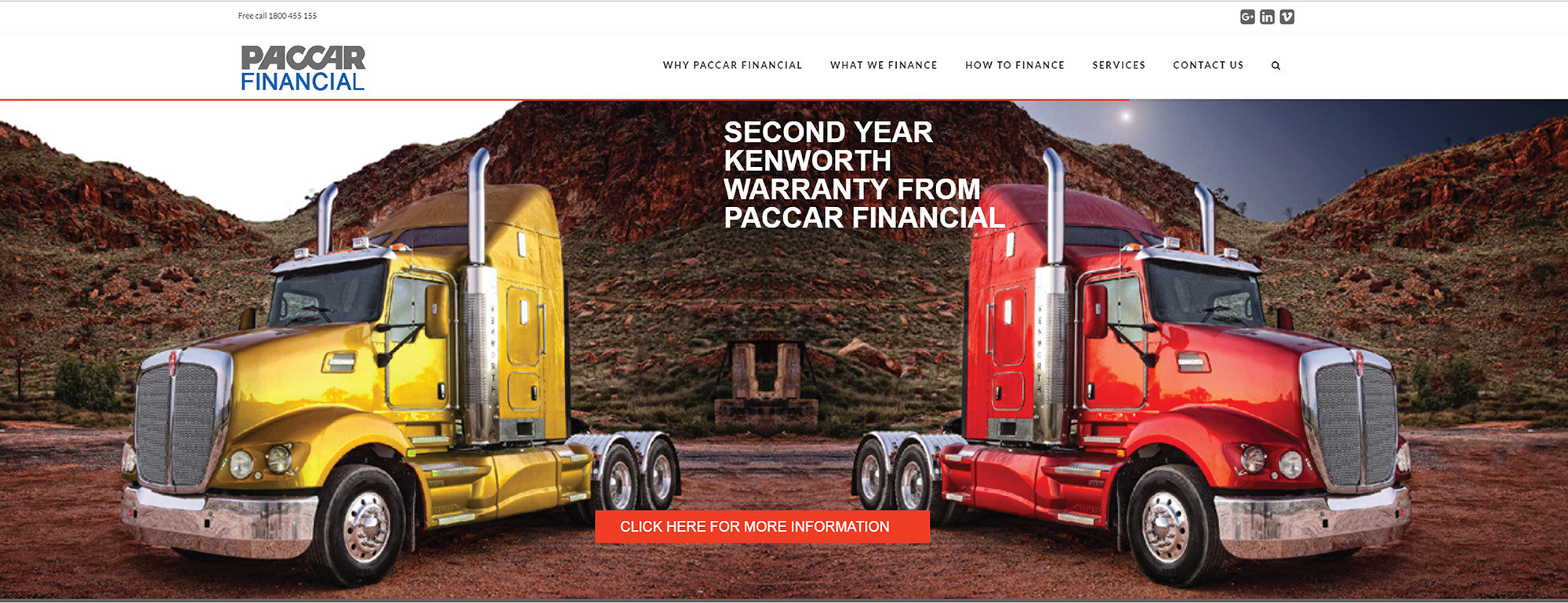 Paccar financial launches new website
