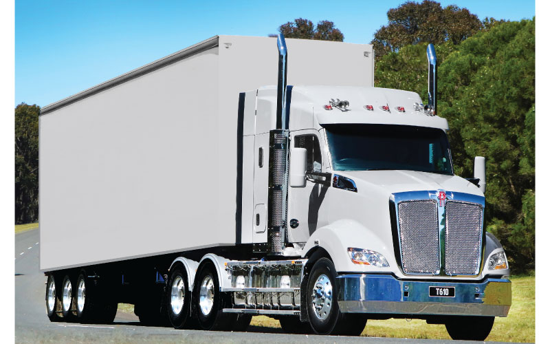 EXCLUSIVE REPORT: KENWORTH LAUNCHES NEW T610 - Kenworth